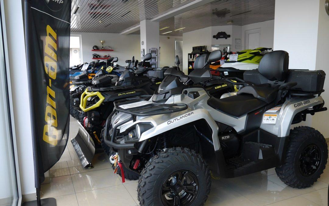 Velika ponuda BRP Can Am Atv/quad vozila za moto sezonu 2019.