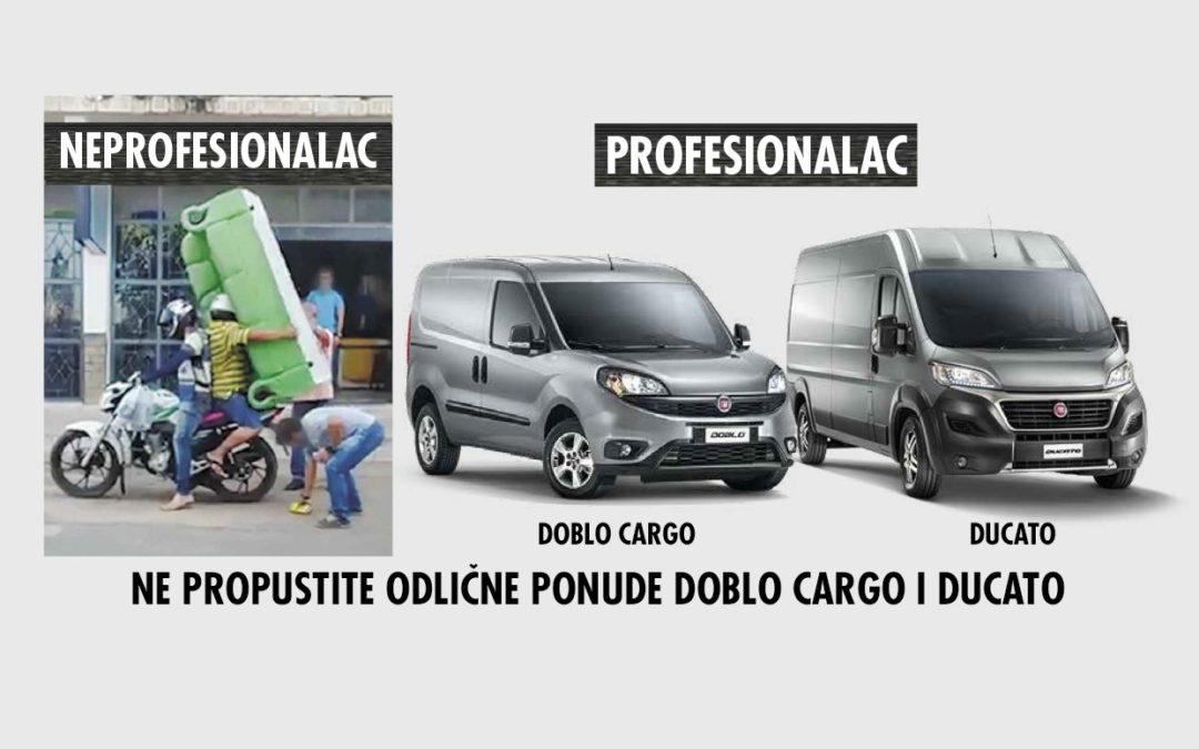 Odlična ponuda FIAT Professional programa