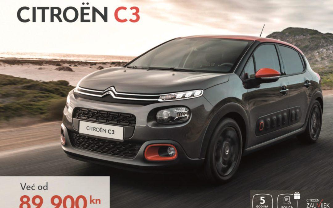 Ne propustite posebne ponude za Citroën C3 i C4 Cactus