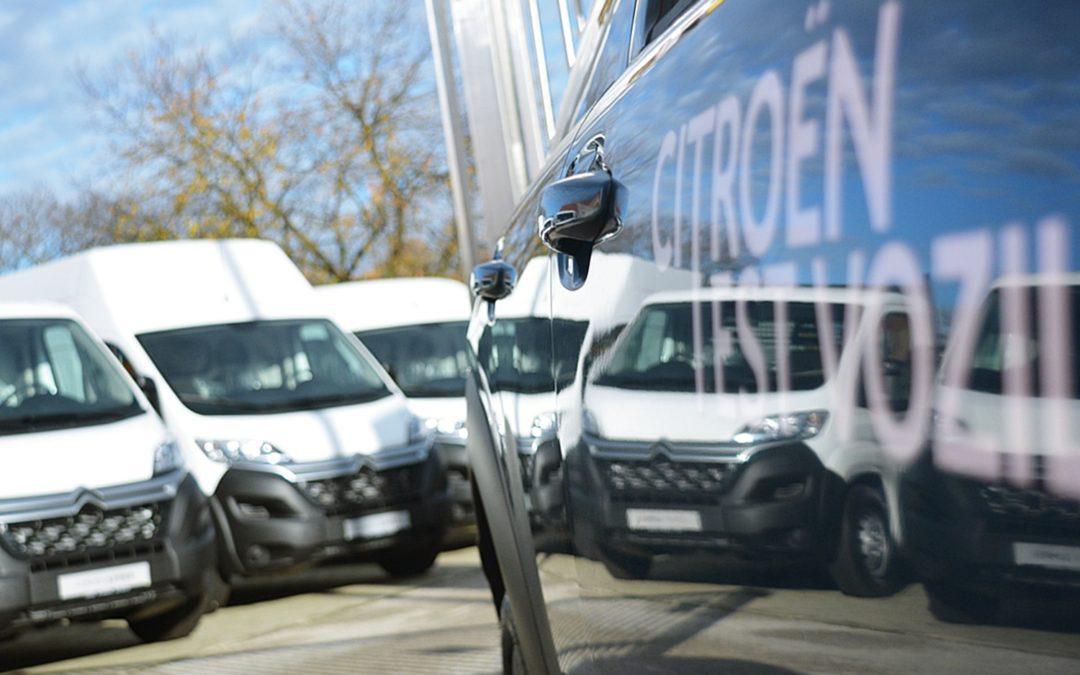 Predstavljanje novog Citroën salona i Citroën lakih gospodarskih vozila