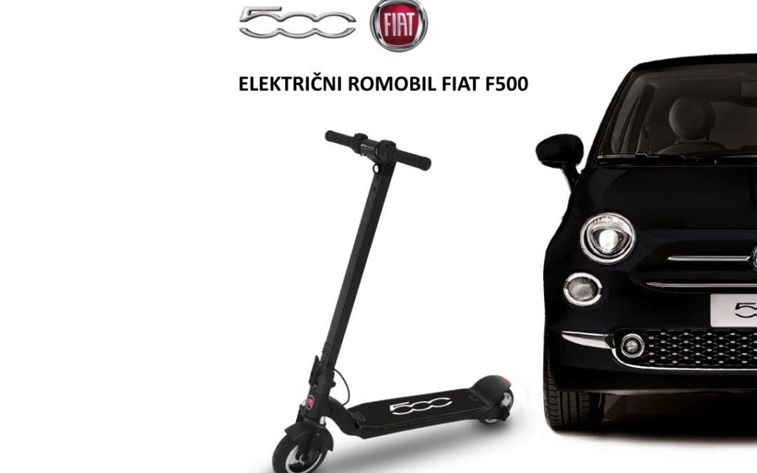 NOVO U PONUDI! – Električni romobil Fiat F500