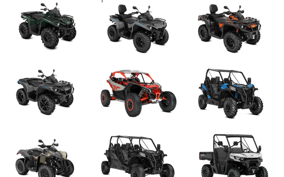 BRP Can Am ATV i SSV m.y. 2021. Otvorite za više informacija.