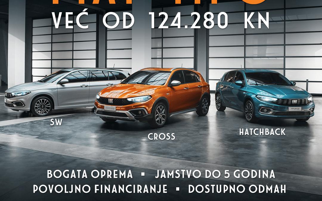 FIAT TIPO VEĆ OD 124.280 Kn
